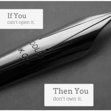 Petty Joys: A Series | Part Two:  If You Can't Open It, You Don't Own It